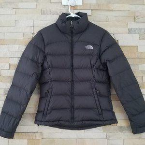 North Face Womens Small Nuptse Down Jacket Black S